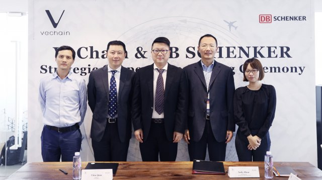 VeChain Blockchain Teams With DB Schenker For Supply Chain Services