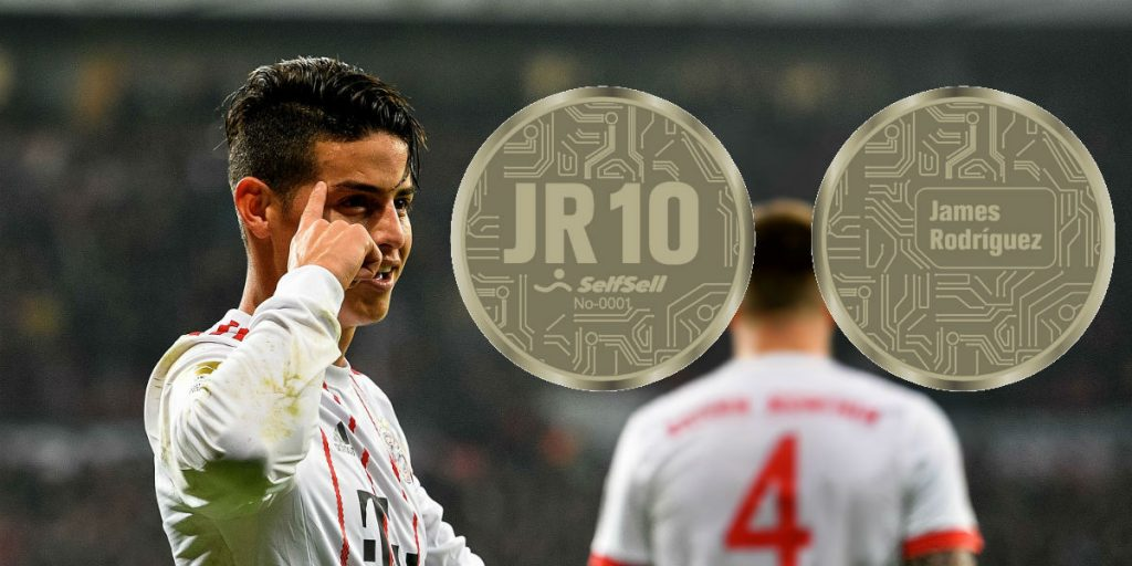 James Rodriguez | Soccer Player | James Rodriguez Cryptocurrency | JR-10