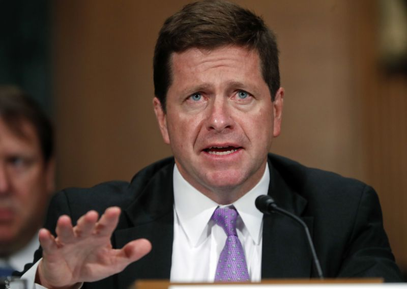 SEC Chairman: Cryptocurrencies Like Bitcoin Aren't a Security But Tokens Are