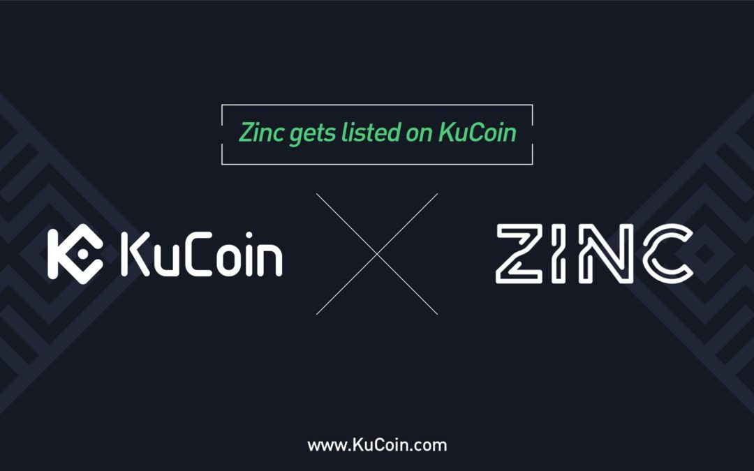 ZINC Is Now Available On KuCoin Cryptocurrency Exchange Market