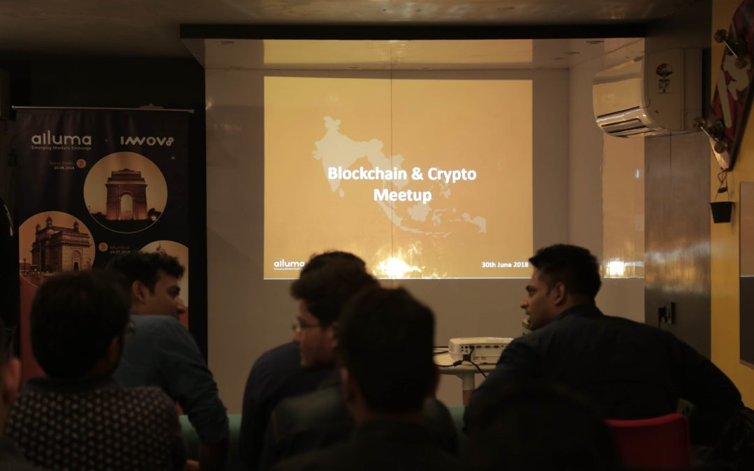 Highlights of Alluma Blockchain & Cryptocurrency Meet-up Delhi, 30th June 2018