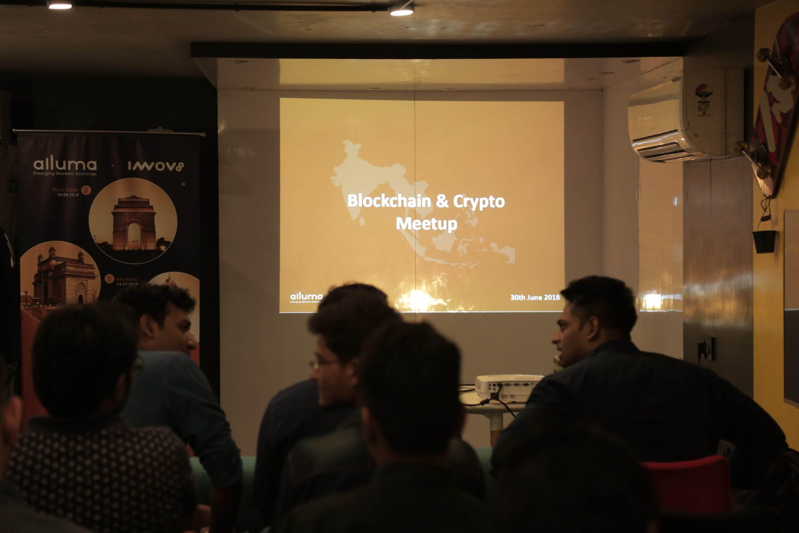 Alluma | Alluma Meet | Alluma Cryptocurrency and blockchain meetup | cryptocurrency exchange India