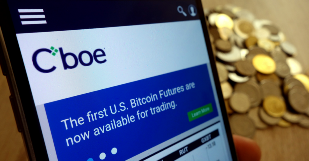 CBOE Files For Bitcoin ETF License With SEC