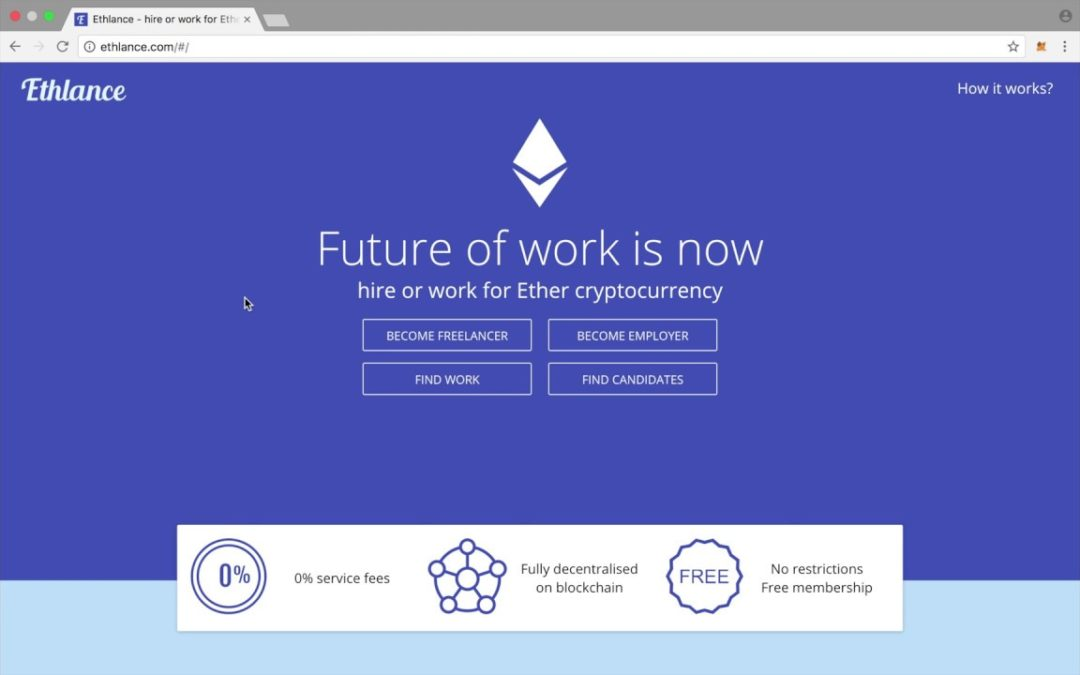 Ethlance: The Platform That Will Let You Get Paid in Ethereum