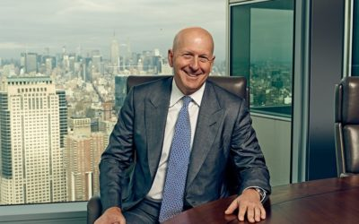Goldman Sachs New CEO David Solomon is Very Positive About Bitcoin