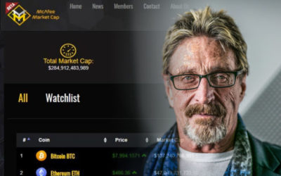 John McAfee Launches Crypto Pricing Website: McAfeeMarketCap.com