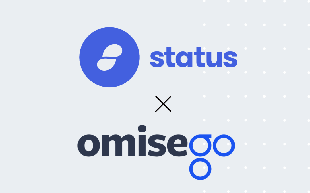 OmiseGo (OMG) Ties up With Ethereum's First Ever Client, Status