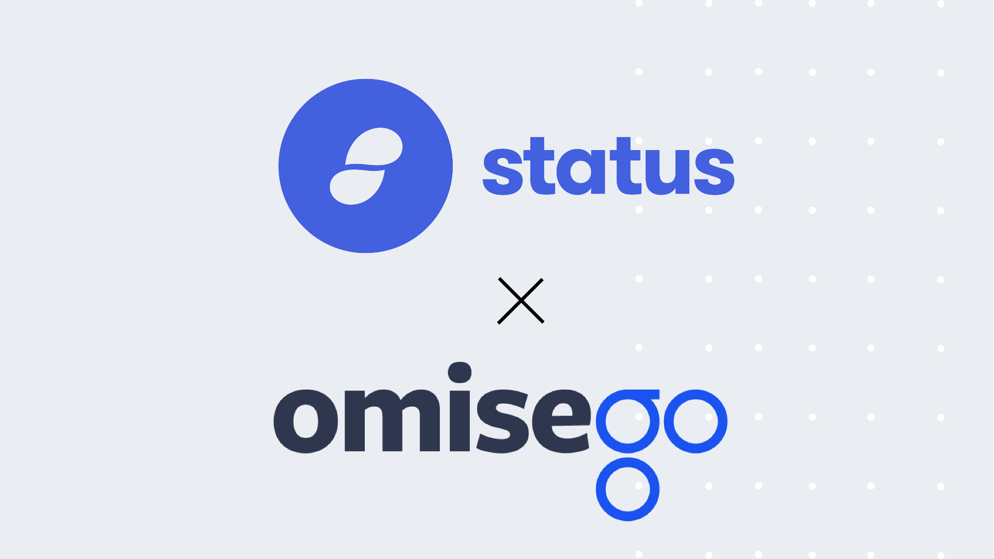 Omisego | OMG | Omisego Partners with Status | cryptocurrency updates
