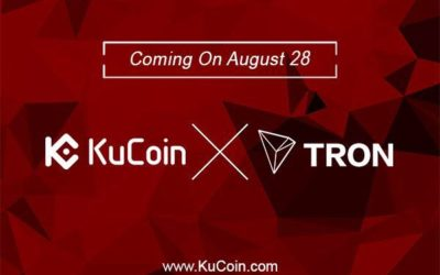 KuCoin Cryptocurrency Exchange Lists TRON (TRX) Cryptocurrency