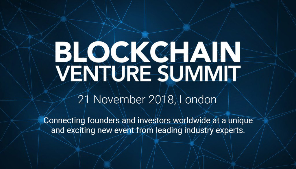 Blockchain Conference: Blockchain Venture Summit 2018 London