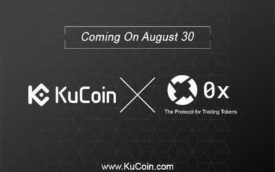 0x Protocol Listed ZRX To KuCoin Blockchain Asset Exchange