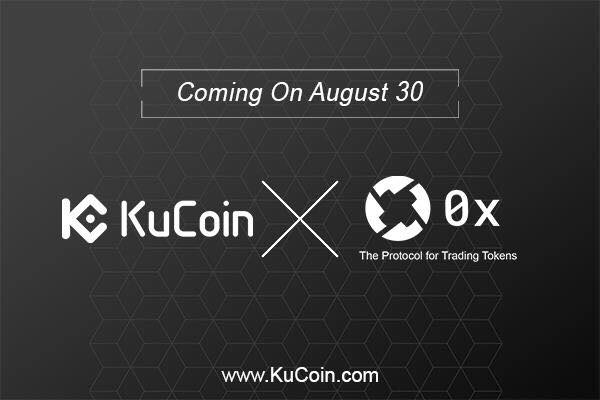 0x Protocol Listed ZRX To KuCoin Blockchain Asset Exchange
