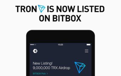 Tron (TRX) Added To Social Media Giant LINE's BitBox Exchange