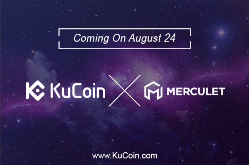 KuCoin Cryptocurrency Exchange Lists Merculet (MVP) Cryptocurrency