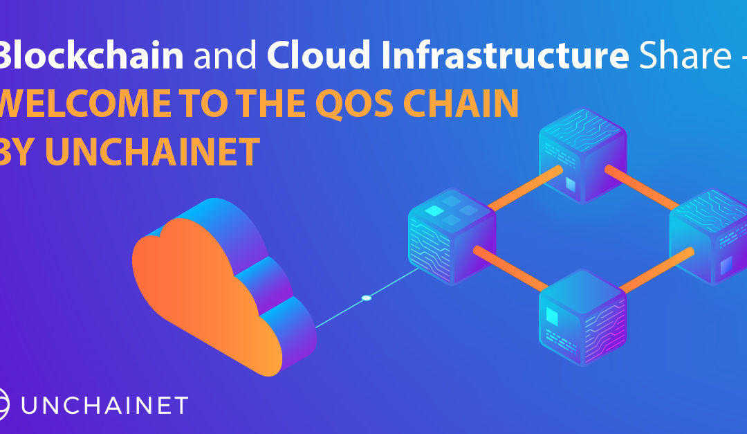 Blockchain and Cloud Infrastructure Share- Welcome to the QoS Chain by Unchainet