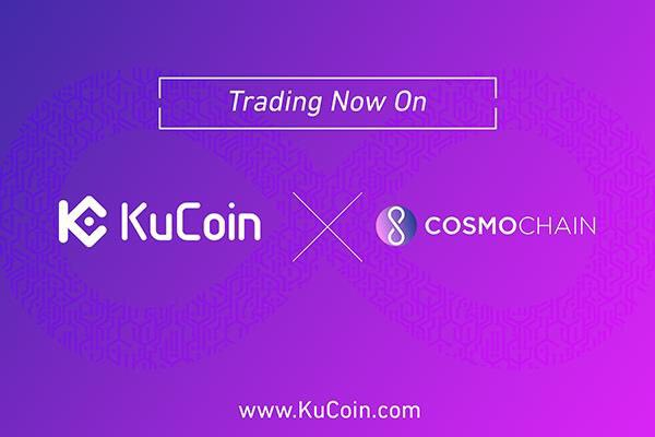 KuCoin Cryptocurrency Exchange Lists Cosmochain (COSM) Cryptocurrency