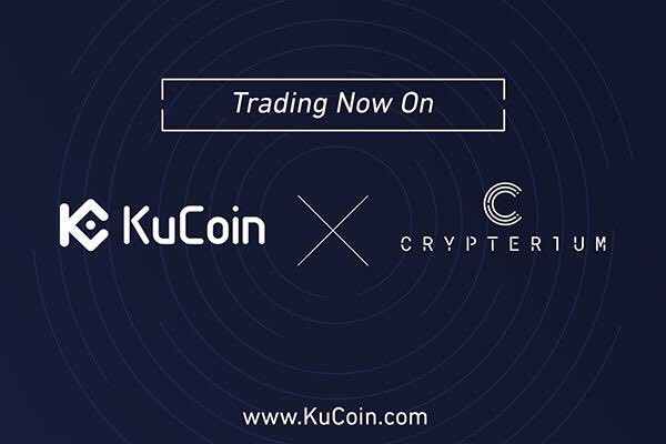 KuCoin Cryptocurrency Exchange Lists Crypterium (CRPT)