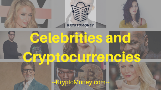 cryptocurrencies and celebrities | celebrities and bitcoin