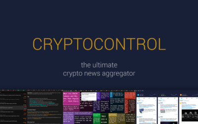 Crypto Control: One Of The Best Crypto News Aggrgator