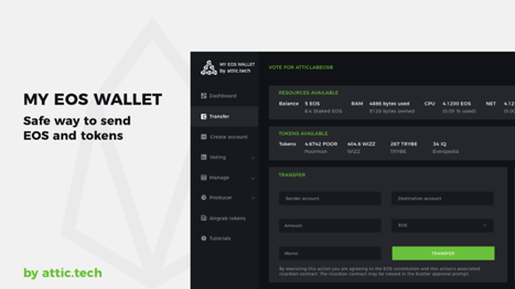 Attic.tech Launched The Upgraded Version Of EOS Wallet