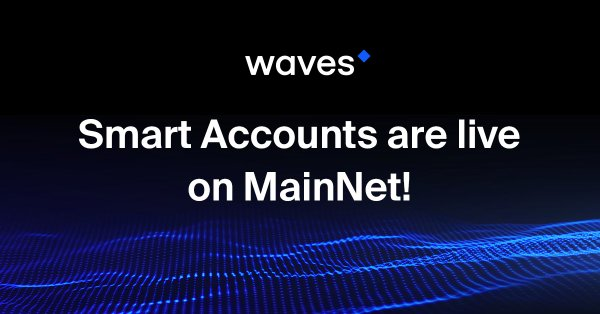 Smart Contract On Waves Platform Activated!!!