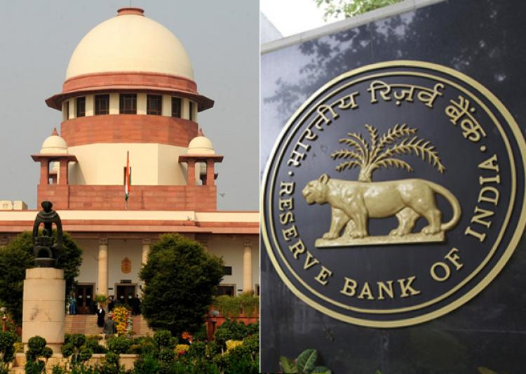 The Supreme Court Of India Adjourned The RBI Cryptocurrency Case To September 12, 2018