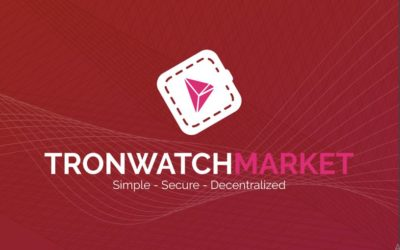 TronWatchMarket: New ICO On The Tron Network To Create A DEX For TRX Tokens
