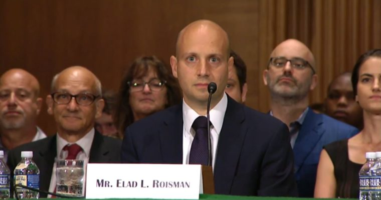 Elad Roisman | Pro Crypto | SEC Commissioner | Bitcoin ETF | Trump Apointee