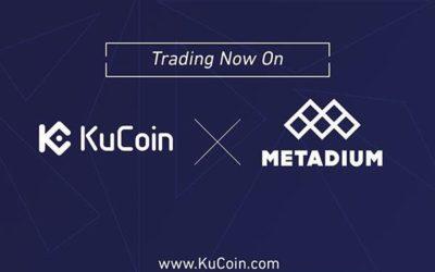 KuCoin Cryptocurrency Exchange Lists Metadium (META)
