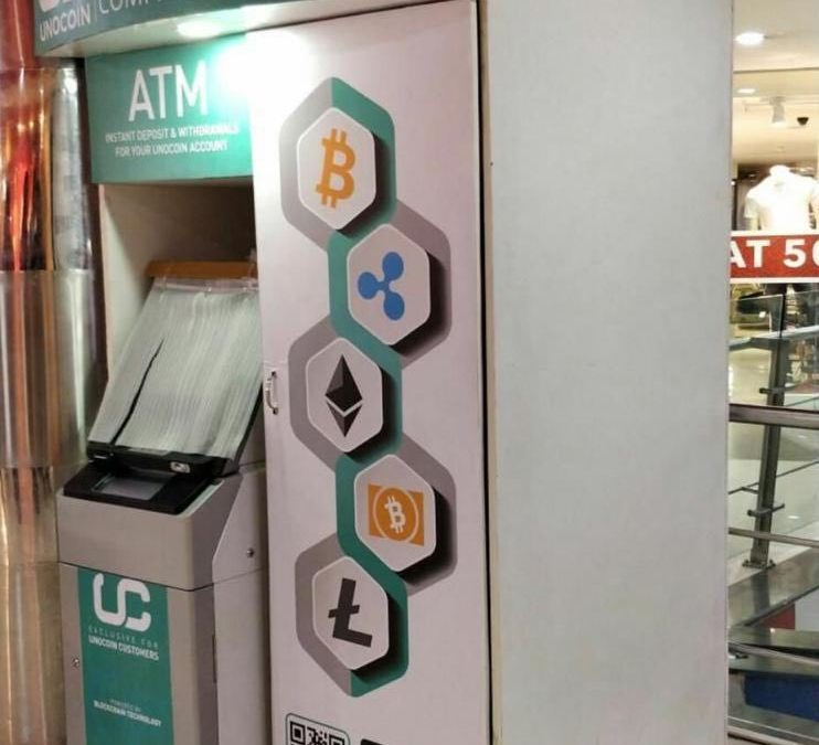 Unocoin Install India's First Cryptocurrency ATM Amidst RBI's Crack-Down