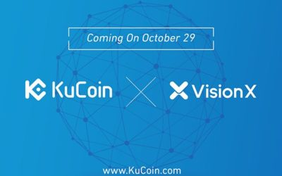 KuCoin Cryptocurrency Exchange Lists VisionX (VNX)