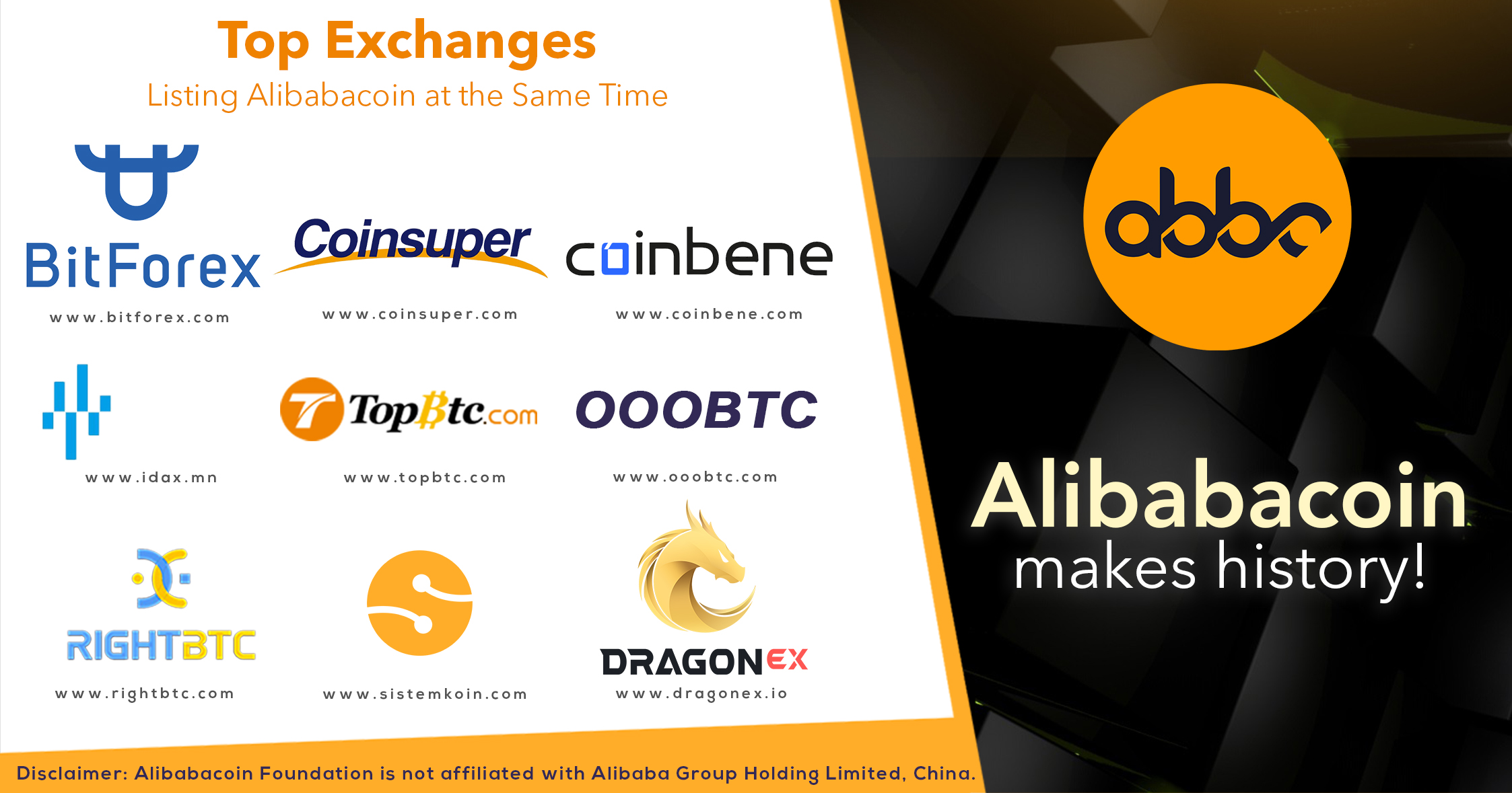 alibabacoin | alibaba foundation