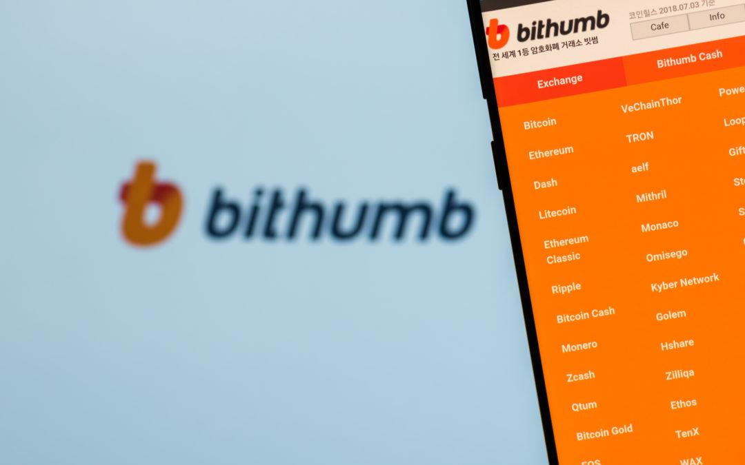 Bithumb, Korea's Largest Crypto Exchange Sells 38% Stake For $350 Million