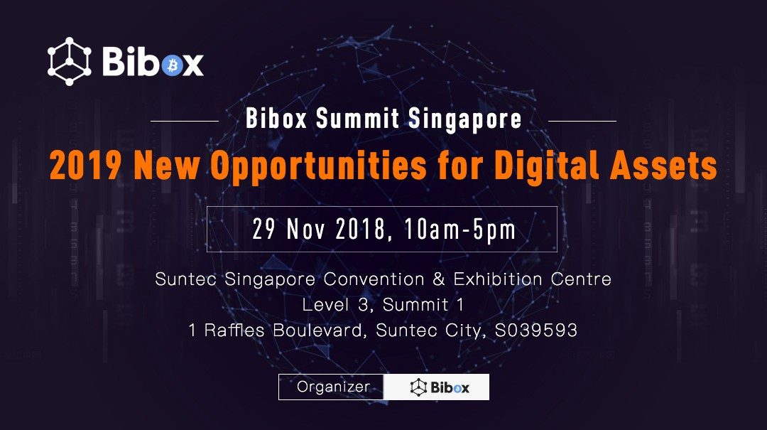 Bibox Summit Singapore 2019 Successfully Concluded With Three Central Developments In The Digital Asset Market