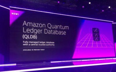 Amazon Announces a Blockchain Quantum Ledger and AWS Managed Blockchain