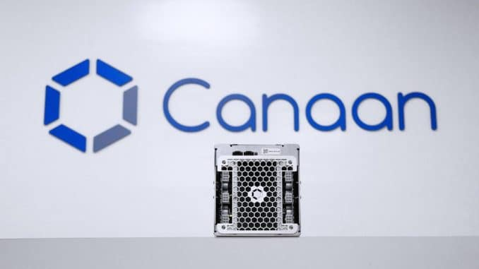 Canaan, Bitcoin Mining Chip Developer Is Considering IPO In The U.S.