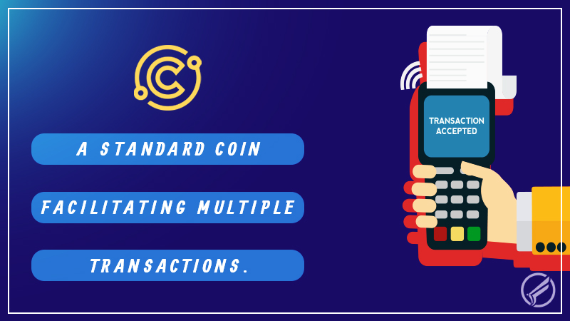 Connect Coin – A Standard Coin Facilitating Multiple Transactions