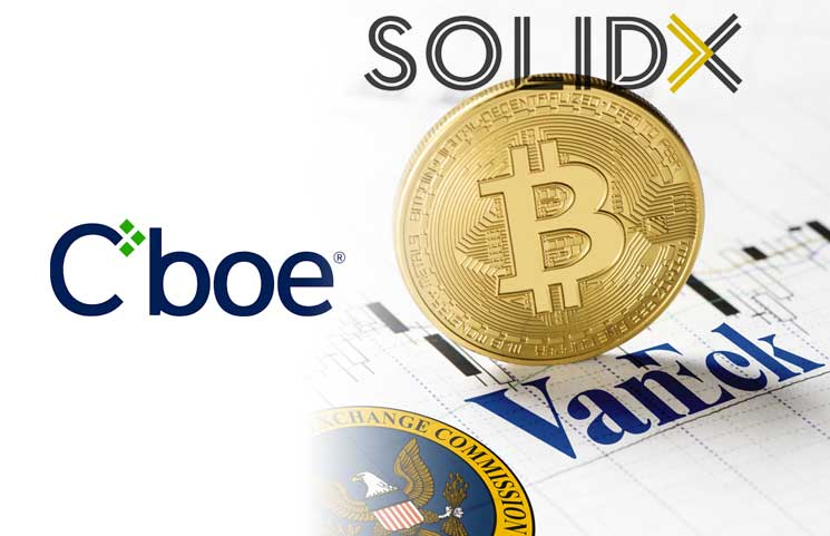 Cboe Exchange Withdraws Proposal for VanEck-SolidX Bitcoin ETF