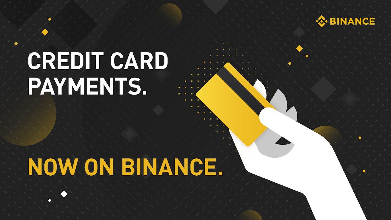Binance   Crypto Purchase   Debit card   Credit Card