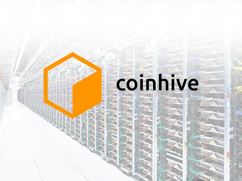 Coinhive | Crypto Mining Sevice | Monereo