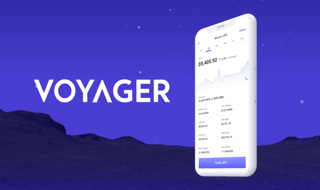 Voyager, A Cryptocurrency Brokerage Startup Goes Public