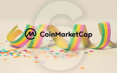 On Its Sixth Birthday, CoinMarketCap Mandates Exchanges To Provide API Data