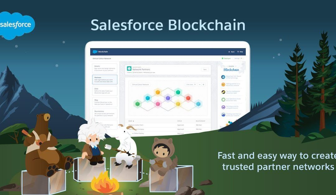 Salesforce Launches Its Very Own Hyperledger-Based Blockchain Platform