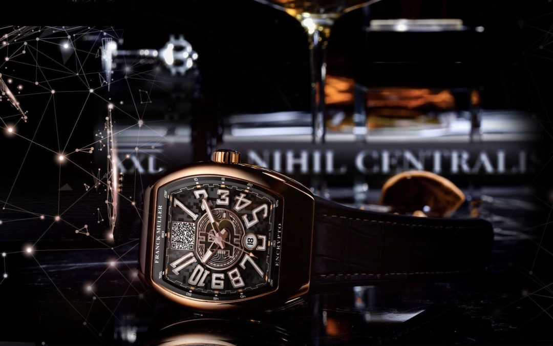 Swiss Watchmaker Franck Muller Launches 'Functional' Bitcoin Timepiece