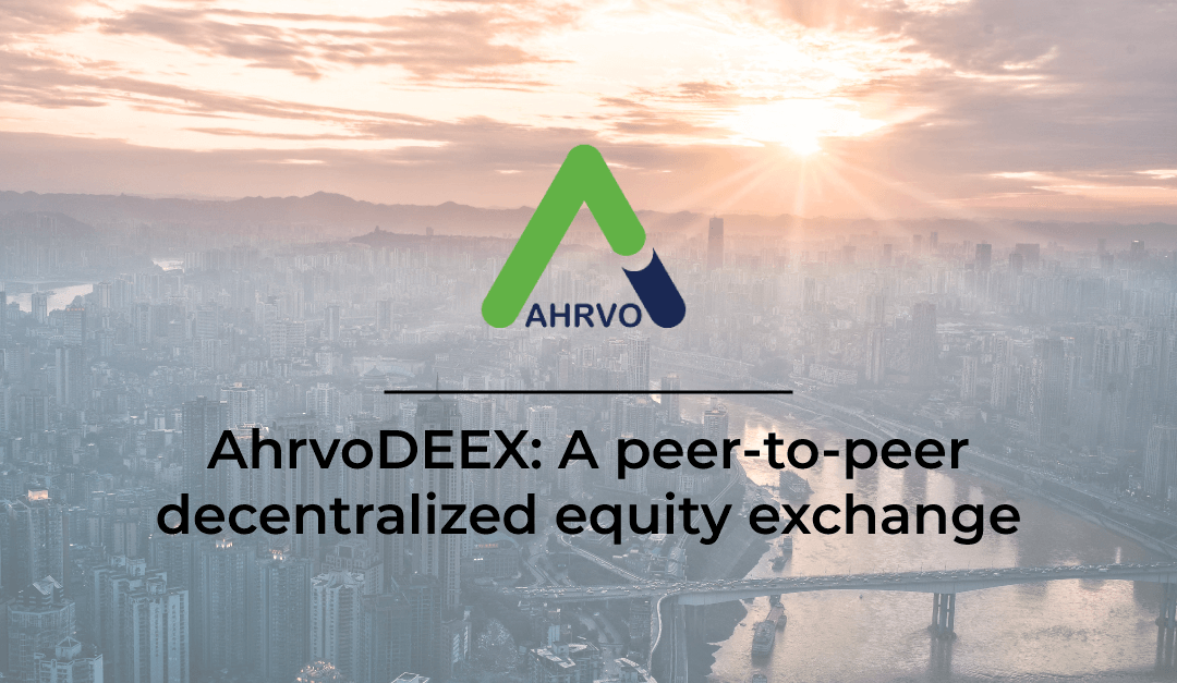 Tokenization of Public Equity Markets Won't Scale and Why AhrvoDEEX is the Solution