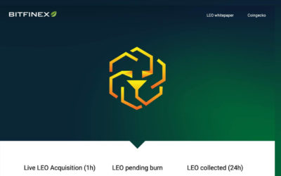 Bitfinex To Publicly Buy Back and 'Burn' Its LEO Exchange Token