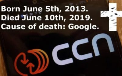 CCN Shuts Down Citing Google's Update As A Reason