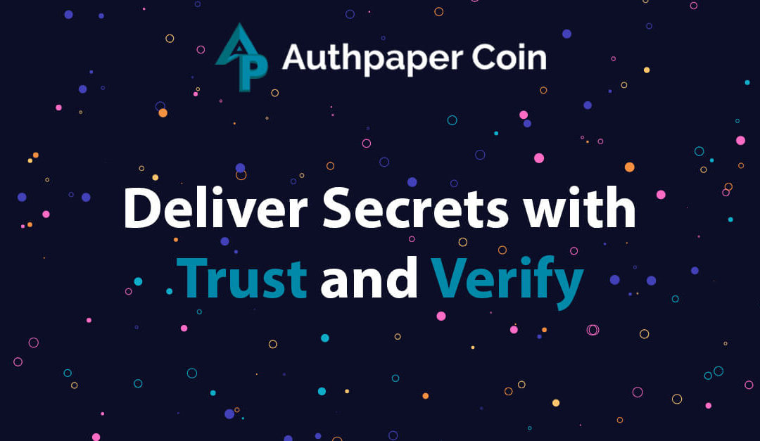 Hike your data security to 100% with Authpaper Delivery