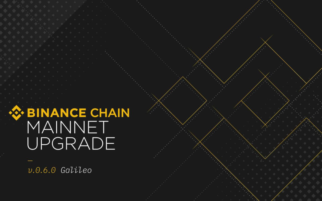 Binance Chain Releases Latest Version of Its Mainnet, Galileo