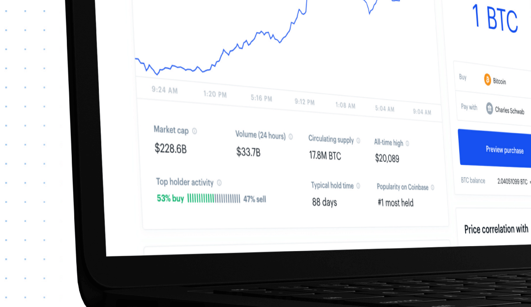 Coinbase Incorporates New Data Tools For 'First-Time' Crypto Investors